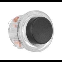 AG0390 deurbelknop beldrukker zwart