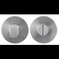 GPF0903.00 toiletgarnituur 50x8mm stift 8mm RVS geborsteld