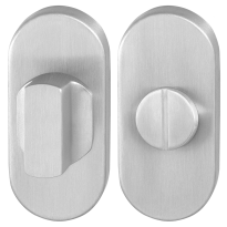GPF0903.04 toiletgarnituur 70x32mm stift 8mm RVS geborsteld