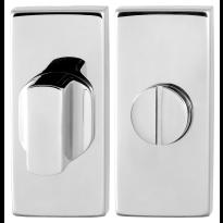 GPF0903.41 toiletgarnituur 70x32mm stift 8mm RVS gepolijst