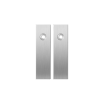 GPF1100.15 kortschild rechthoekig RVS geborsteld