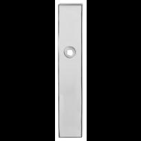 GPF1100.65 langschild rechthoekig RVS gepolijst