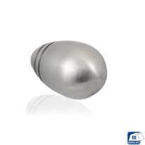 GPF5525 RVS meubelknop rond