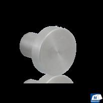 GPF5550 RVS meubelknop rond