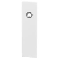 GPF8100.55 kortschild rechthoekig wit
