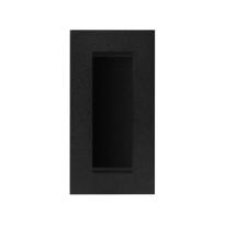GPF8717.61A schuifdeurkom zwart 102x51mm