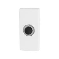 GPF8826.41 wit deurbel rechthoekig