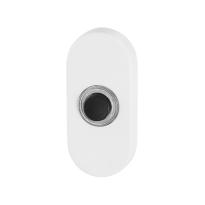 GPF8826.44 wit deurbel ovaal