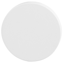 GPF8900VW blinde rozet 53x6mm wit