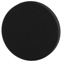 GPF8900VZ blinde rozet 53x6mm zwart