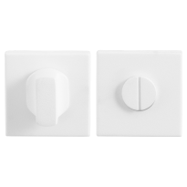 GPF8911.42 toiletgarnituur 50x50x8mm stift 5mm wit