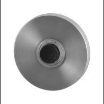 GPF9826.09 voordeurbel rond 50x8 mm RVS geborsteld