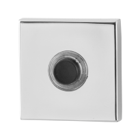 GPF9826.42 deurbel vierkant 50x50x8 mm RVS gepolijst