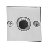 GPF9826.48 deurbel RVS vierkant 50x50x2 mm RVS gepolijst