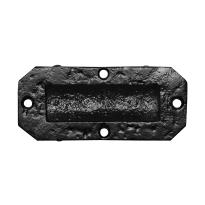 KP1194 schuifdeurkom smeedijzer zwart