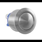 AG0391 deurbelknop beldrukker RVS geborsteld