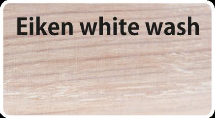 Finish eiken whitewash