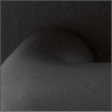 Detail finish zwart structuur