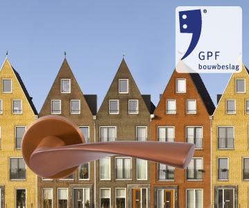 GPF bouwbeslag finish koper