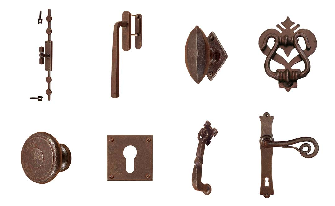 Overzicht van de uiteenlopende collectie van Utensil Legno
